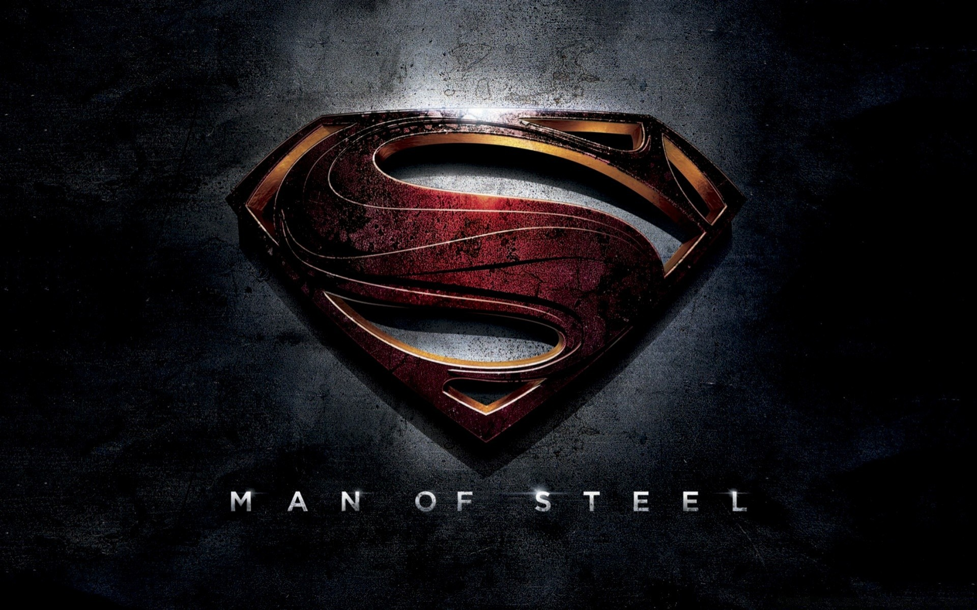 man of steel dark desktop vintage retro