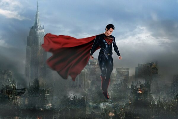 Man Of Steel Superman 2013 by Loganchico