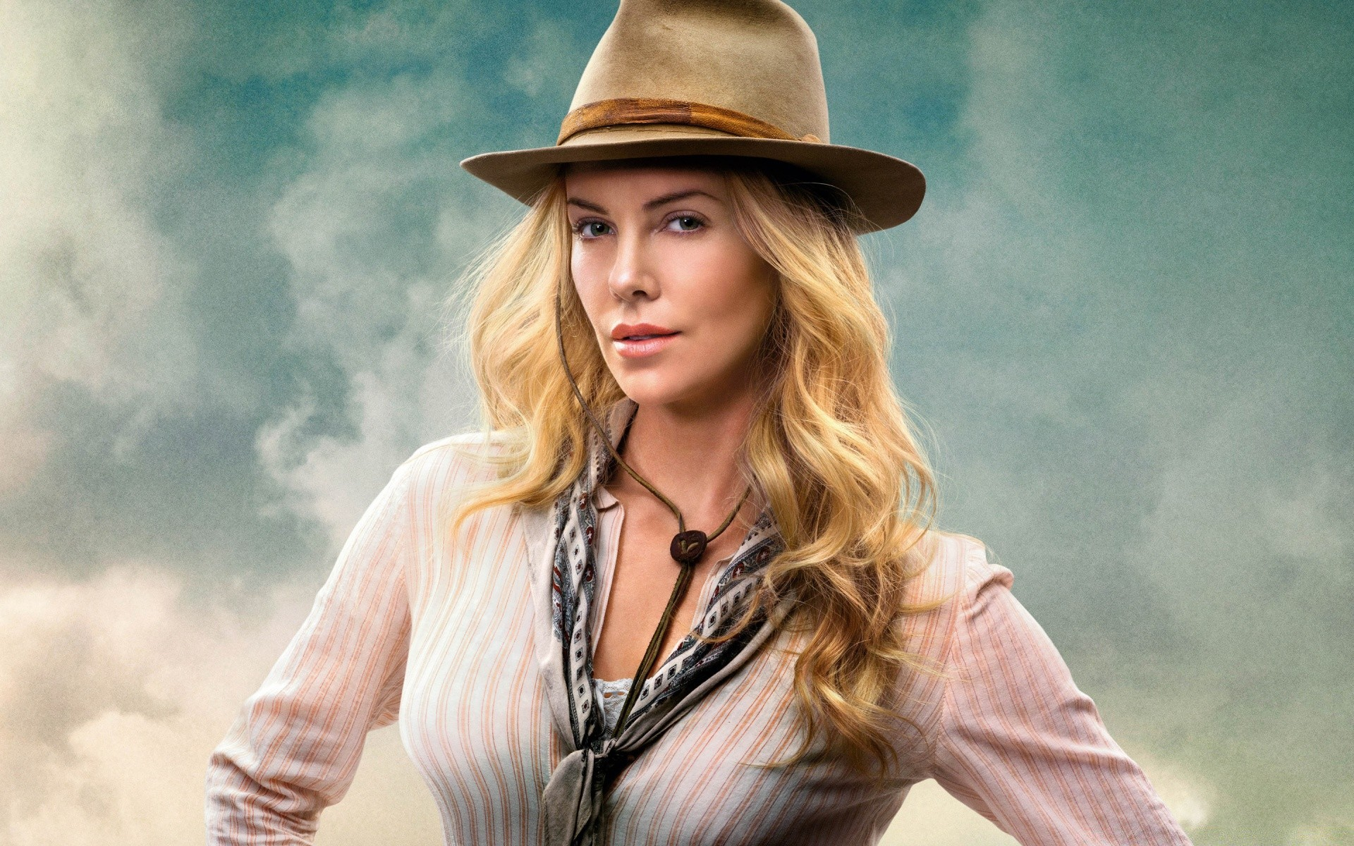 A Million Ways To Die In The West Charlize Theron IPhone Wallpapers For Free