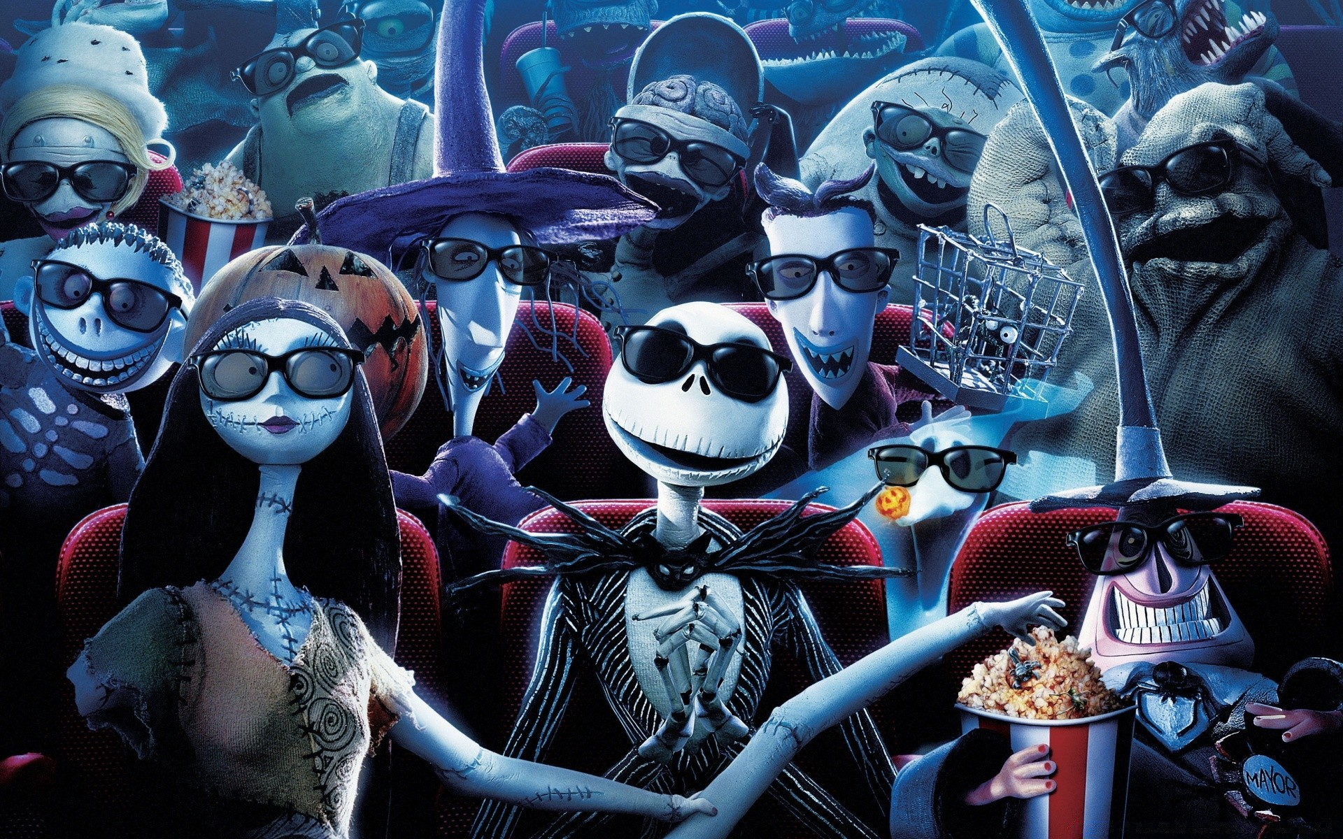 Nightmare Before Christmas Free Wallpapers