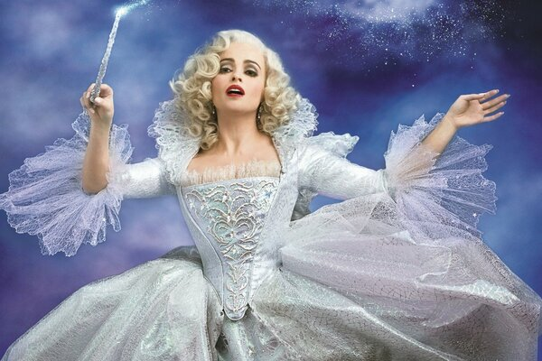 Cinderella 2015 Fairy Godmother