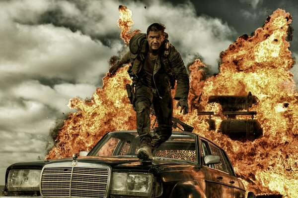 Mad Max Fury Road 2015 Movie Tom Hardy