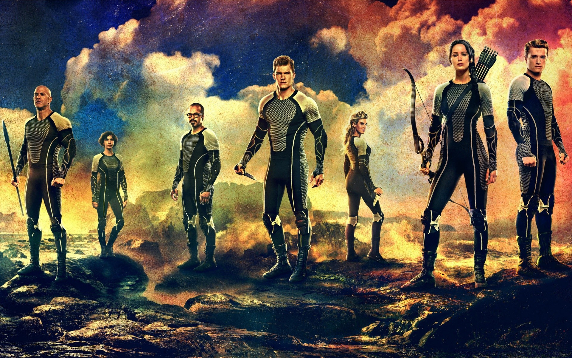 The Hunger Games Catching Fire Cast Android Wallpapers For Free