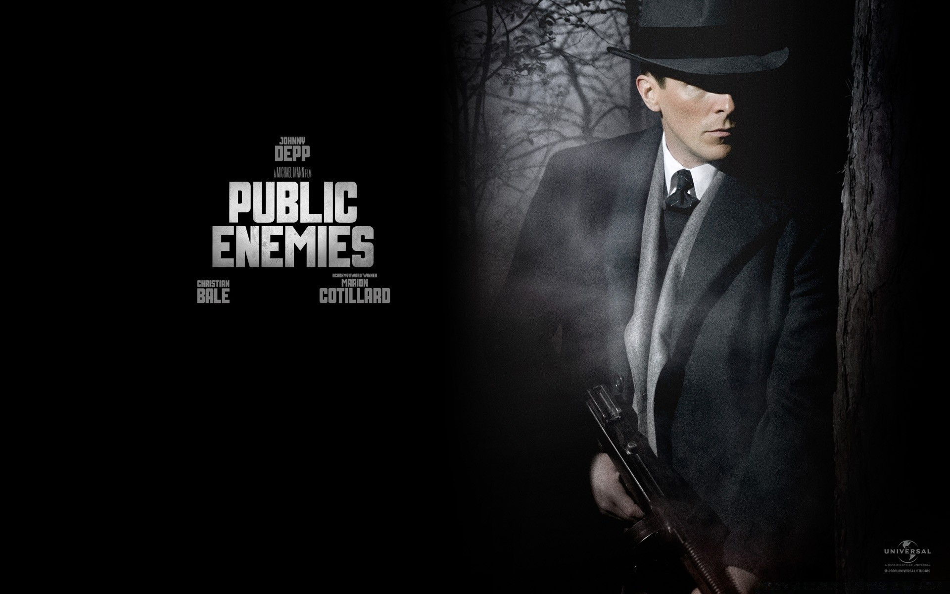 Christian Bale Public Enemies Iphone Wallpapers For Free