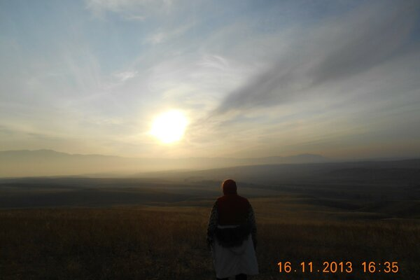 The beauty of the steppes of Kazakhstan