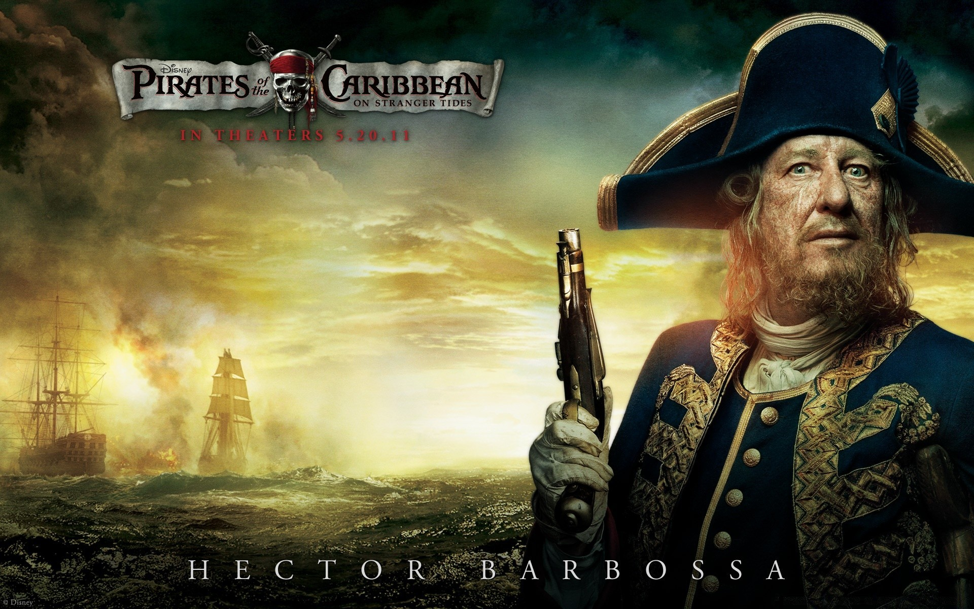 Barbossa 2011 Pirates Of The Caribbean On Stranger Tides
