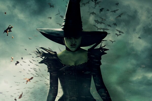 Wicked Witch of the East - Oz the Great and Powerful 2013 Movie