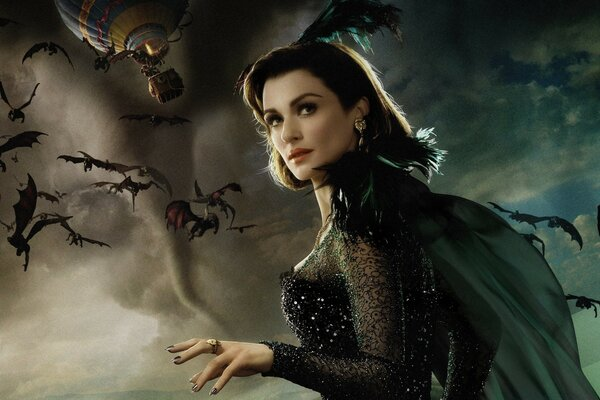 Evanora the Wicked Witch - Oz the Great and Powerful 2013 Movie