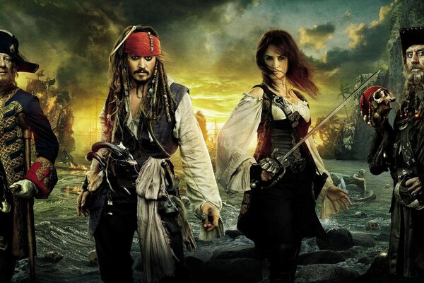 Pirates Of The Caribbean On Stranger Tides 2011 Movie