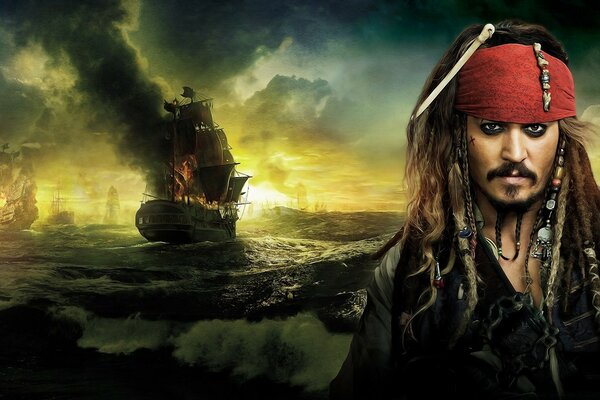Johnny Depp, Pirates Of The Caribbean On Stranger Tides 2011