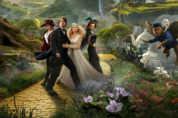 Oz the Great and Powerful 2013 Fantasy Movie