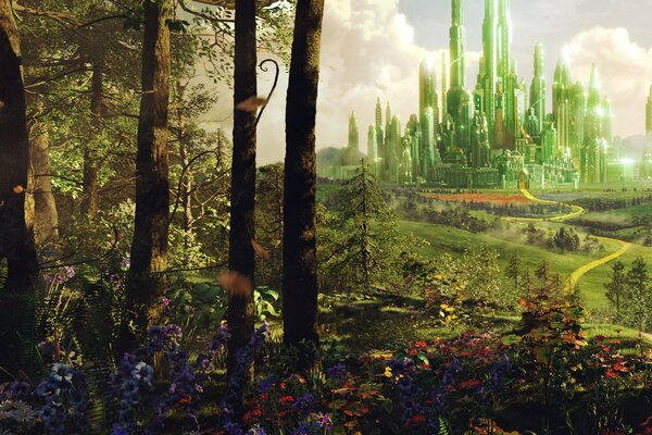 Oz The Great And Powerful - Land of Oz