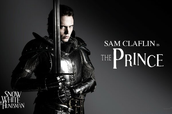 Snow White And The HuntsMan, Sam Claflin as Prince William