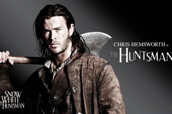 Snow White And The HuntsMan, Chris Hemsworth as the Huntsman