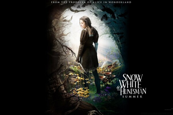 Snow White And The HuntsMan (2012) Fantasy Movie