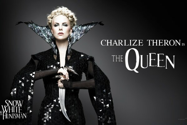 Snow White And The HuntsMan, Charlize Theron as the Queen