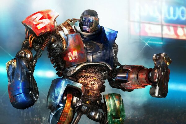Metro in Real Steel