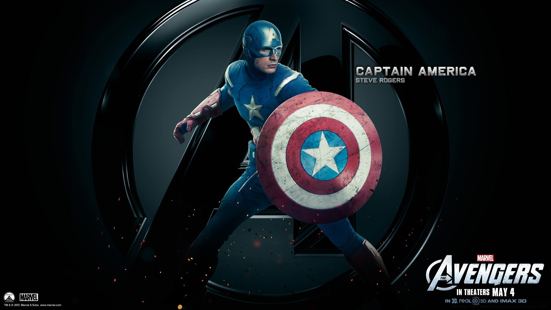 The Avengers Captain America Android Wallpapers For Free