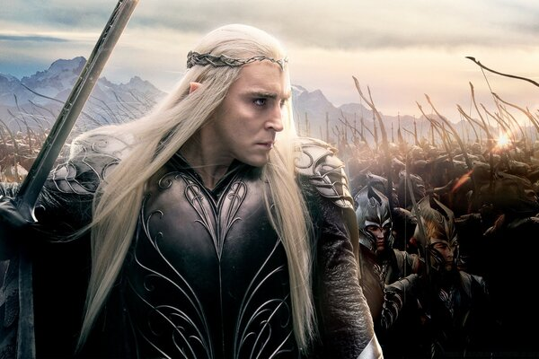 The Hobbit The Battle of the Five Armies Thranduil