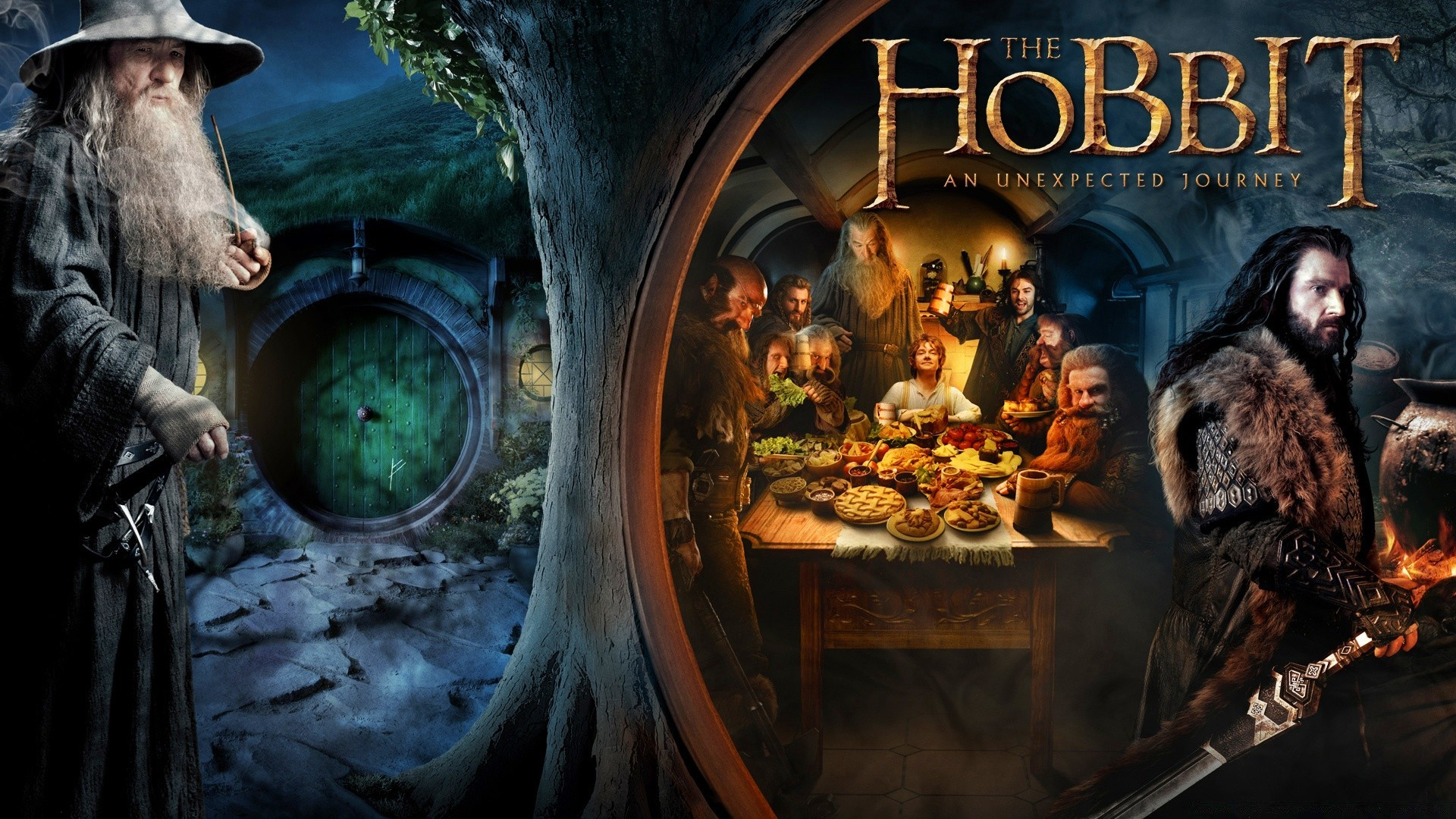 the hobbit an unexpected journey. android wallpapers for free.