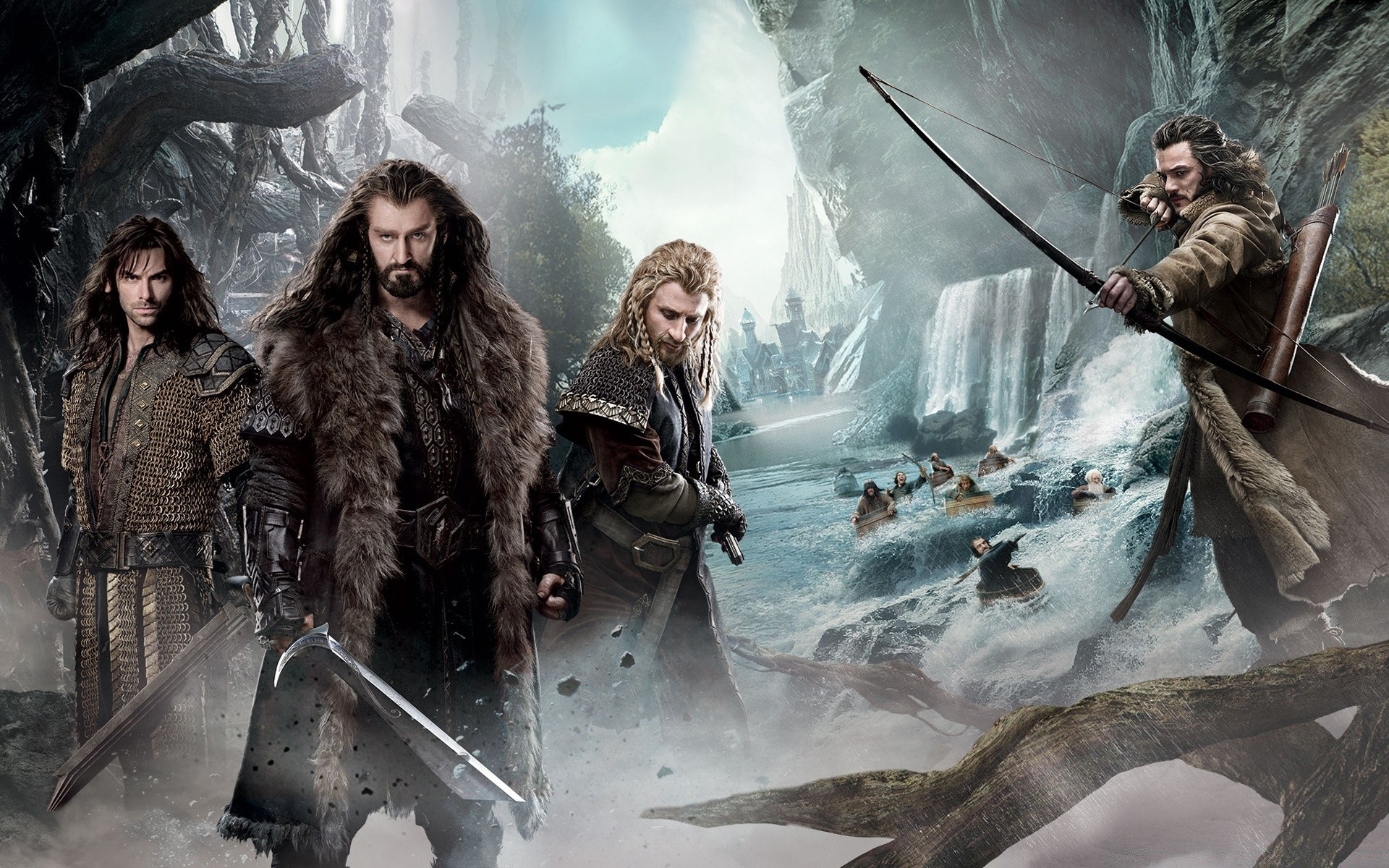 The Hobbit An Unexpected Journey 2 Dwarves IPhone Wallpapers For Free