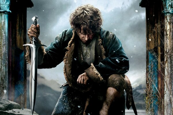 The Hobbit The Battle of the Five Armies 2014 Bilbo