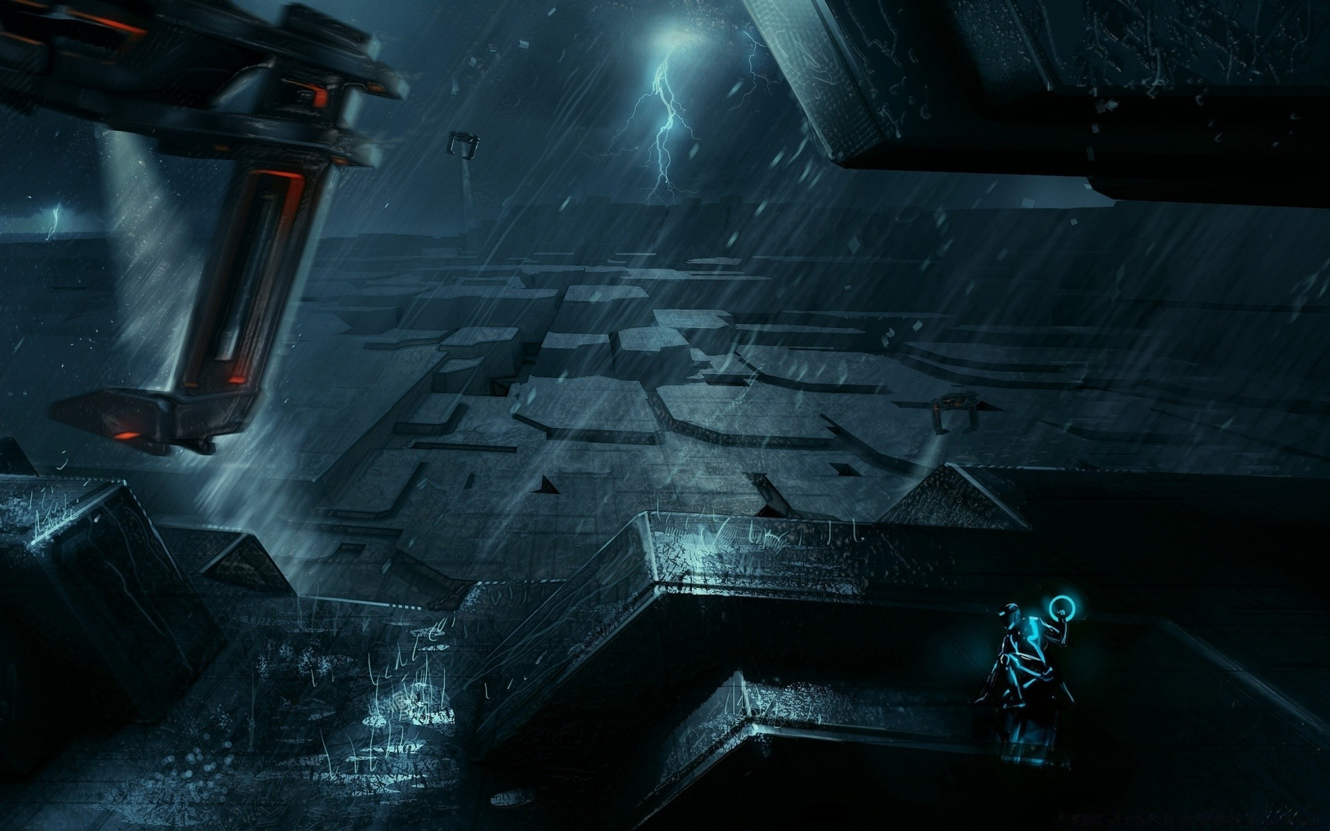 tron legacy artwork. android wallpapers for free.