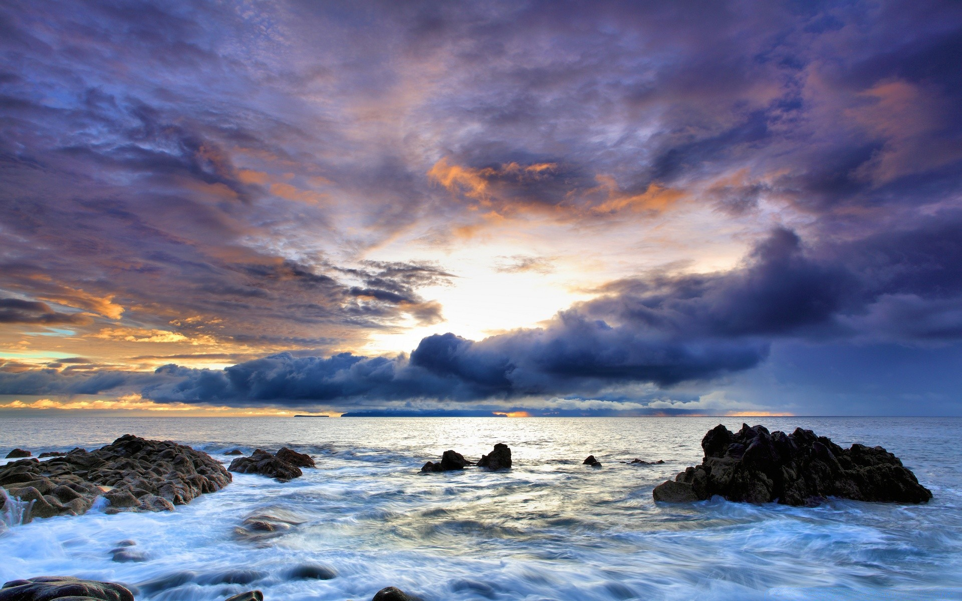 Seaside Hdr Android Wallpapers