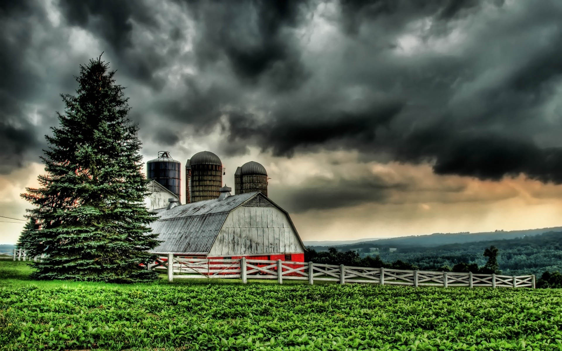 The Barn HDR Desktop Wallpapers For Free