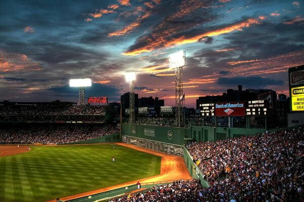 Fenway Park, Boston, Massachusetts - Baseball Park
