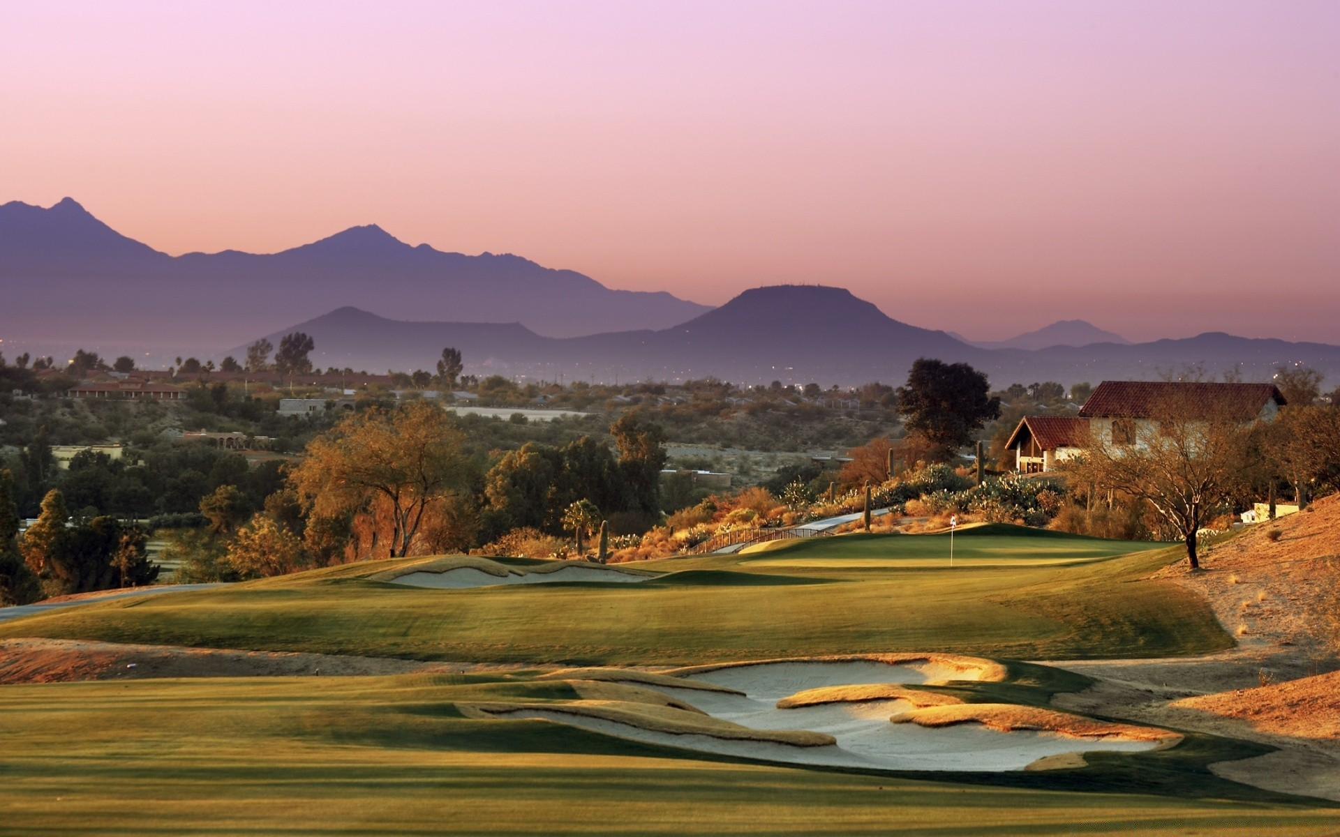 Golf Course Landscape Android Wallpapers