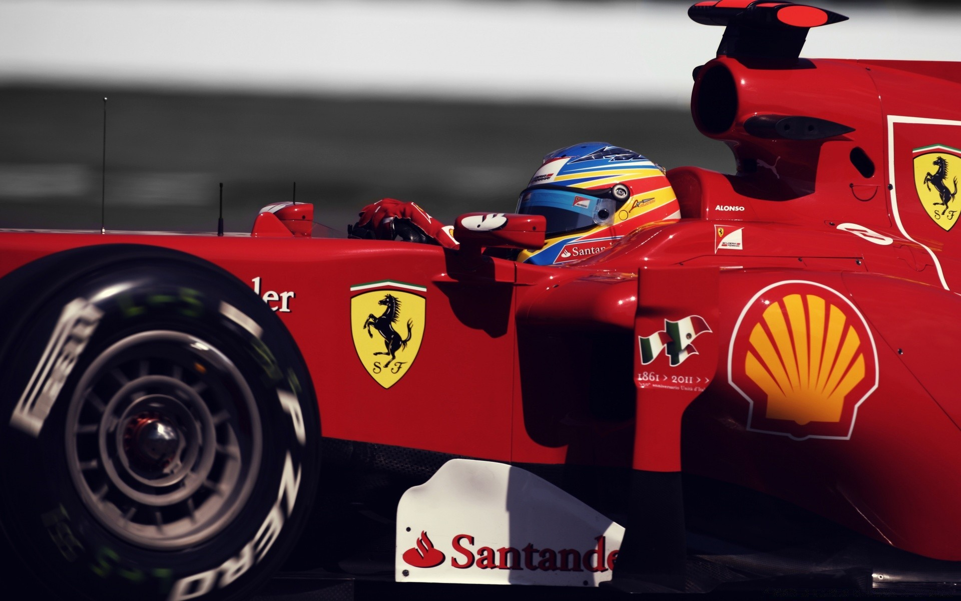 formula 1 race vehicle auto racing fast car track competition transportation system championship action