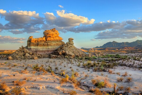 Big Bend National Park - Hoodoos - Chisos Mountains