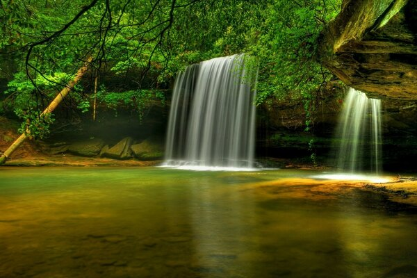 Caney Creek Falls Bankhead National Forest Alabama