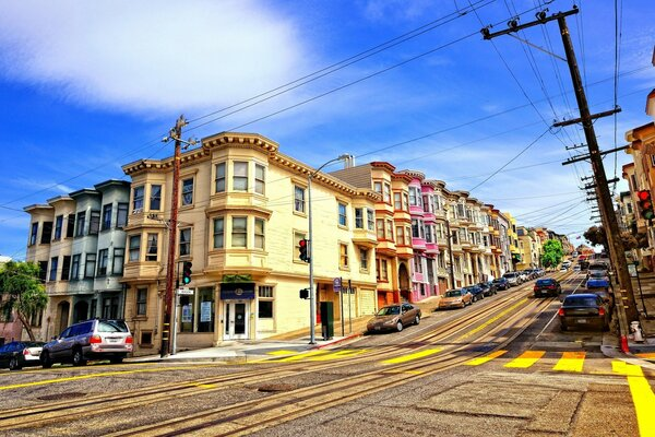 Street In San Francisco