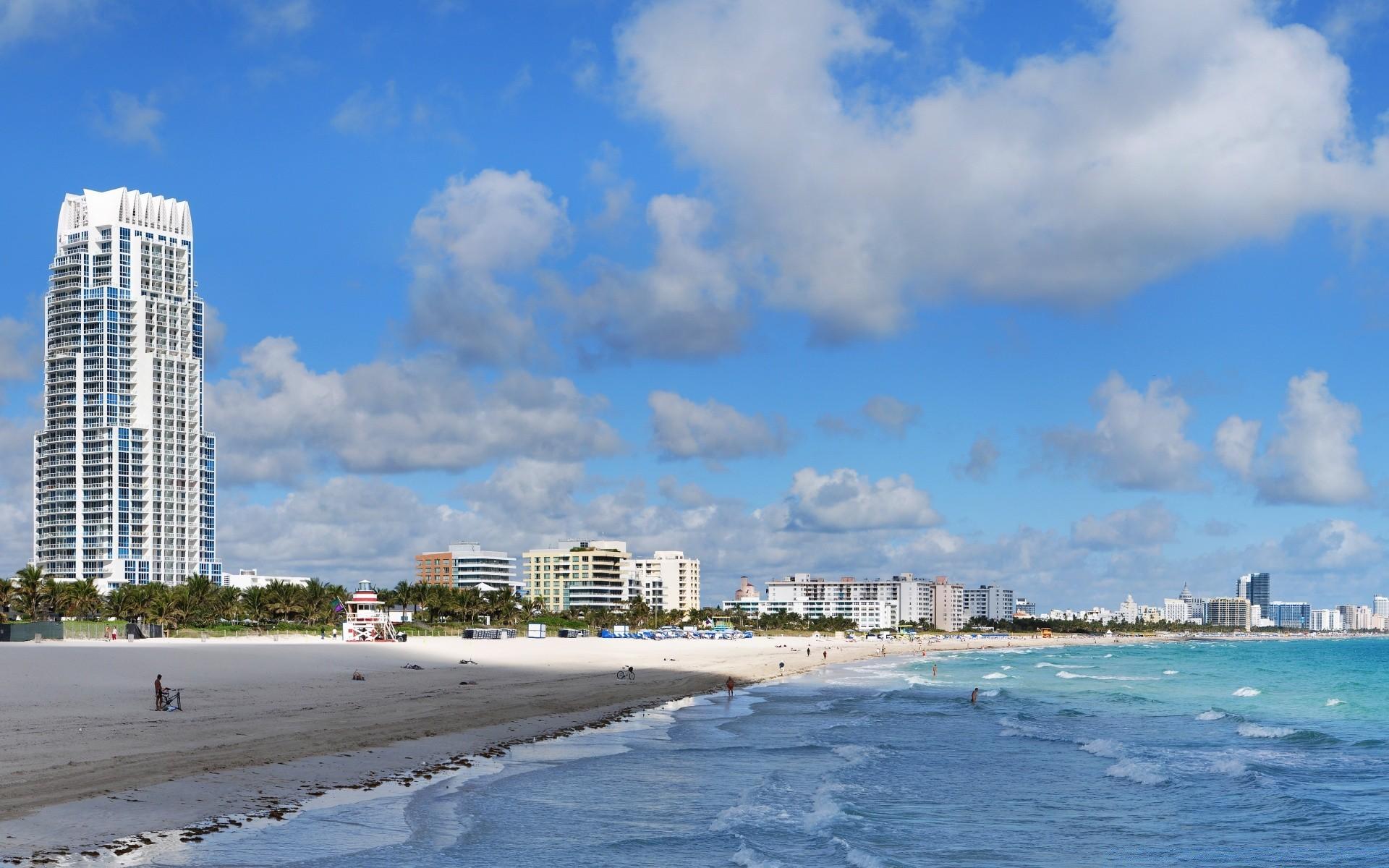 Майами США страны архитектура пляж  № 2229408  скачать