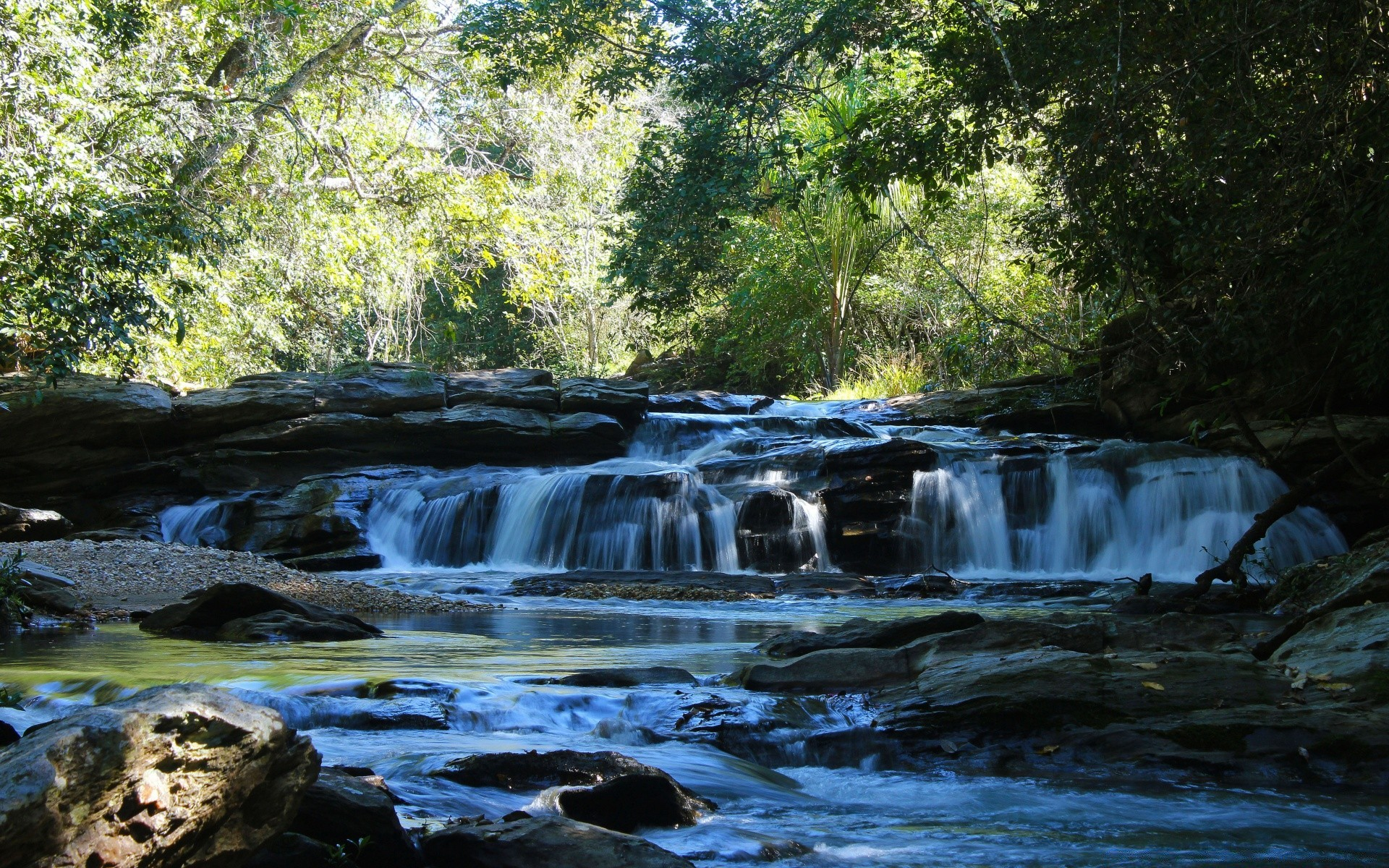 Tropical waterfalls 2 android wallpapers for free voltagebd Image collections