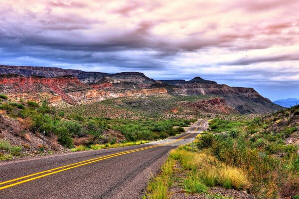 Road To Big Bend National Park