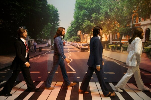 The Beatles - Abbey Road - Madame Tussaud