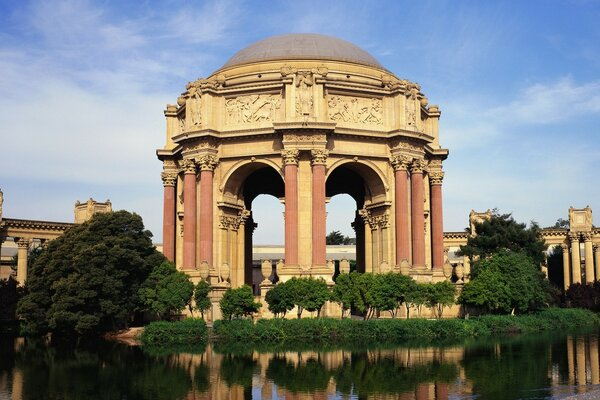 Palace of Fine Arts, San Francisco, California