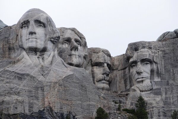 Mount Rushmore National Memorial, Pennington County, South Dakota, US