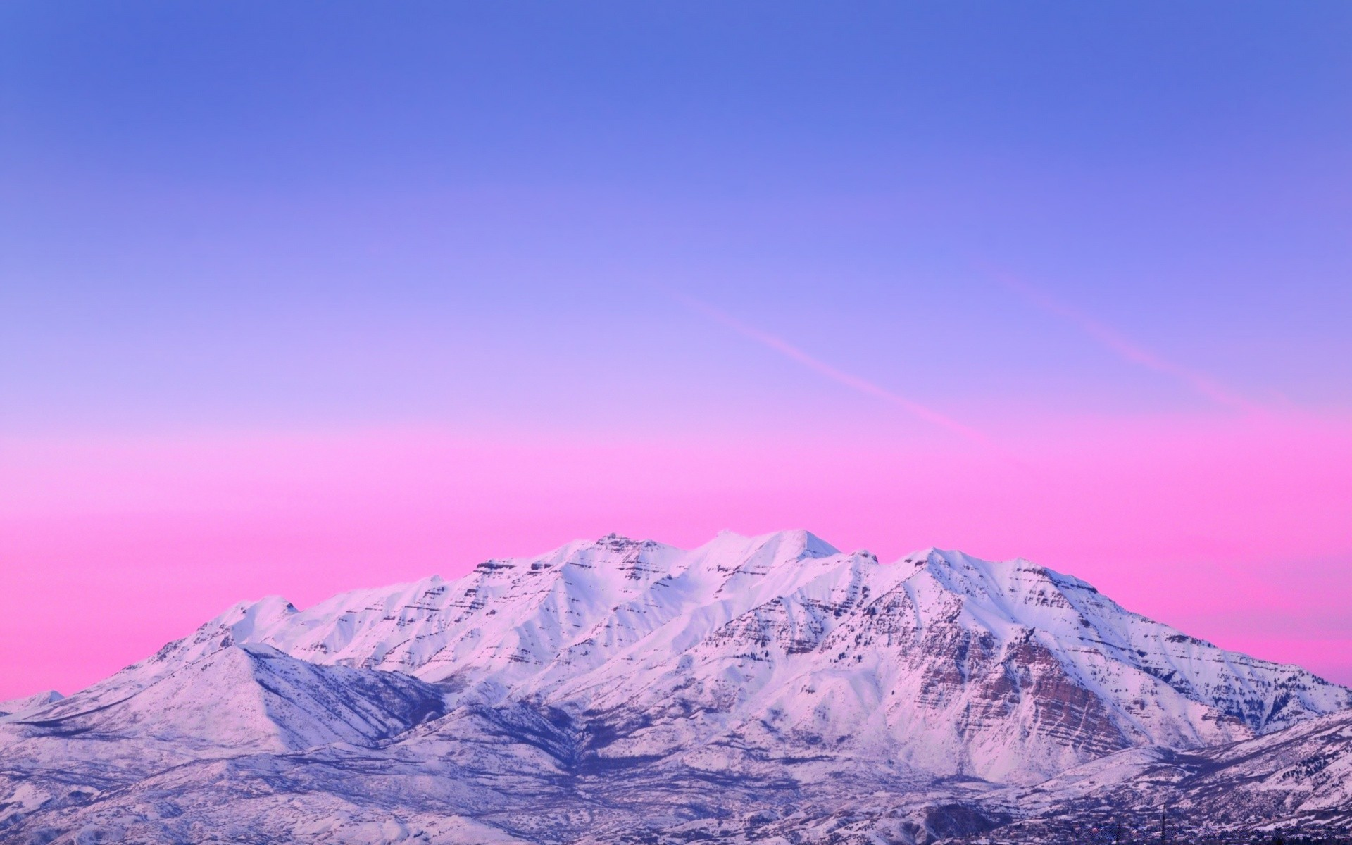 Mount Timpanogos Pink Sunset IPhone Wallpapers For Free