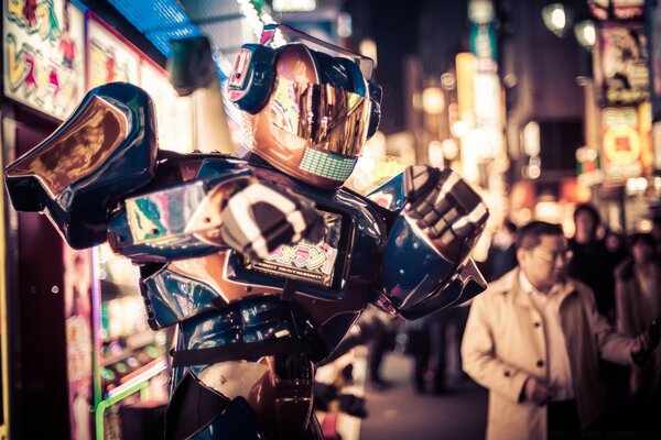 Robots in the Streets of Tokyo