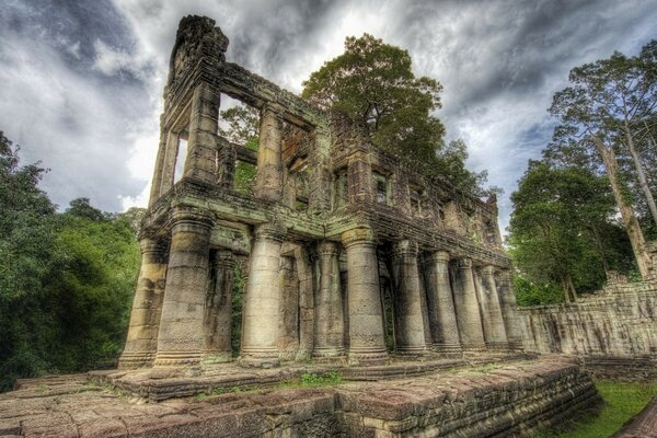 Ancient Library, Cambodia
