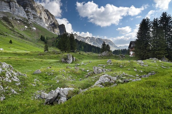 Alpstein Massif, Swiss Alps