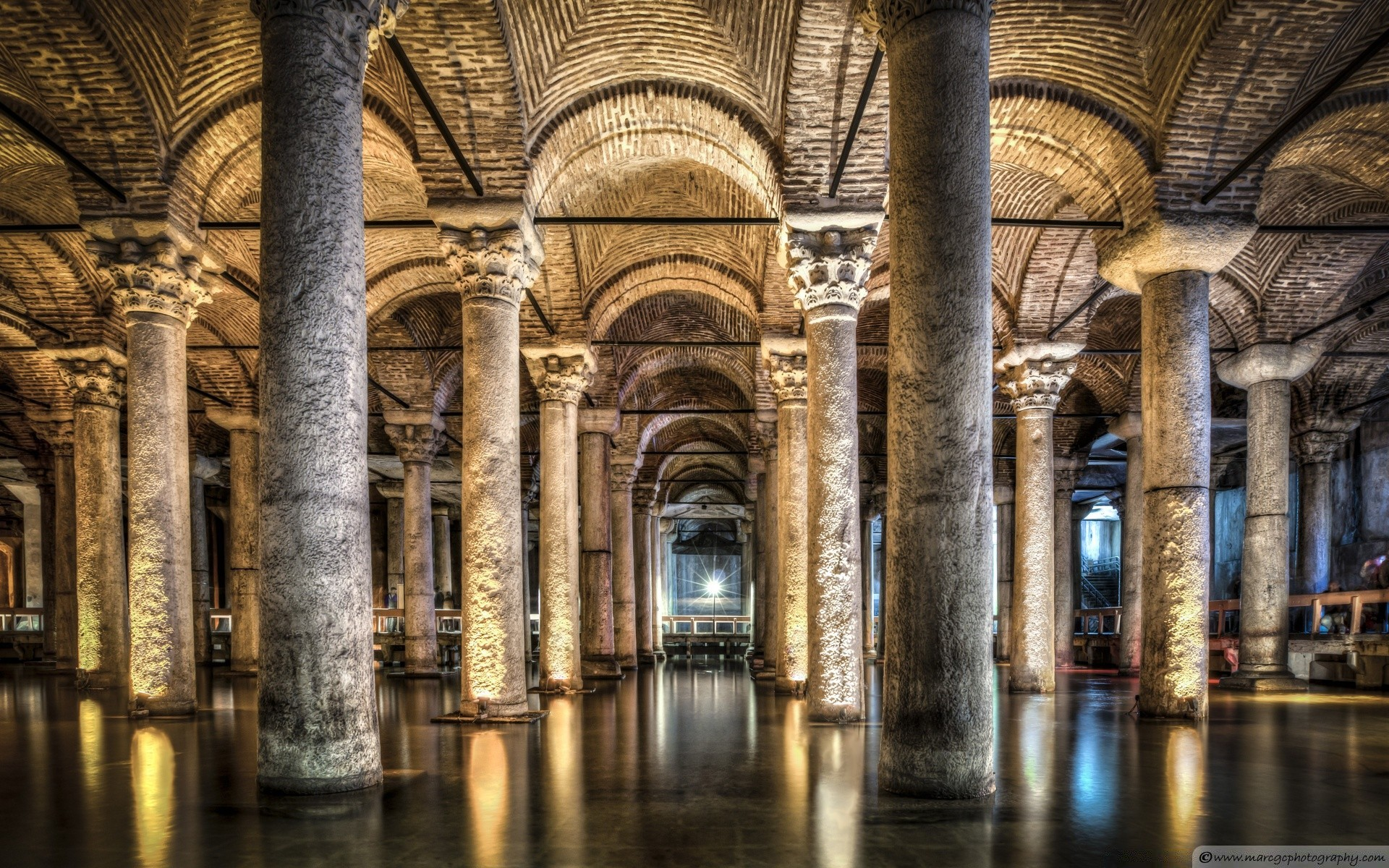 Sunken Palace Or Basilica Cistern Istanbul Turkey Iphone