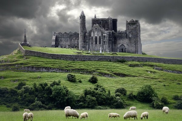 The Rock of Cashel, Ireland, Europe