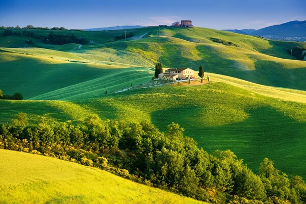 Beautiful Tuscany Landscape