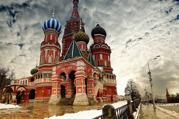 St Basil s Cathedral in Moscow, Russia