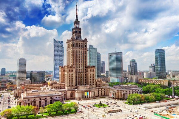 Palace of Culture and Science, Warszawa, Poland